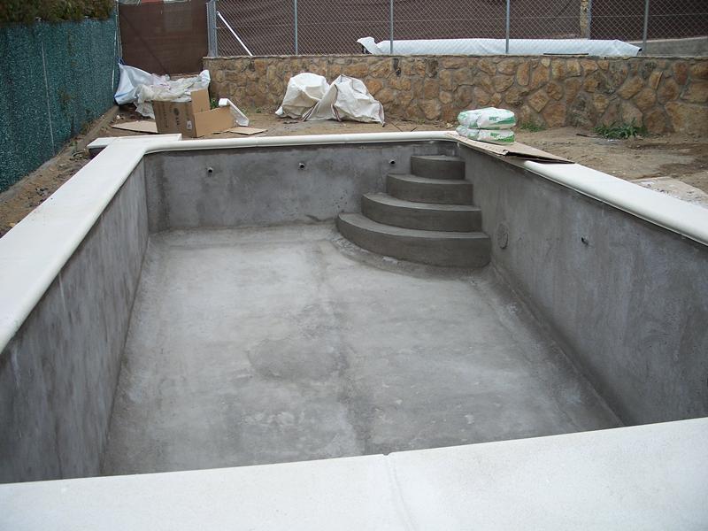 Construcci n piscinas domingo s c - Construccion piscinas paso paso ...